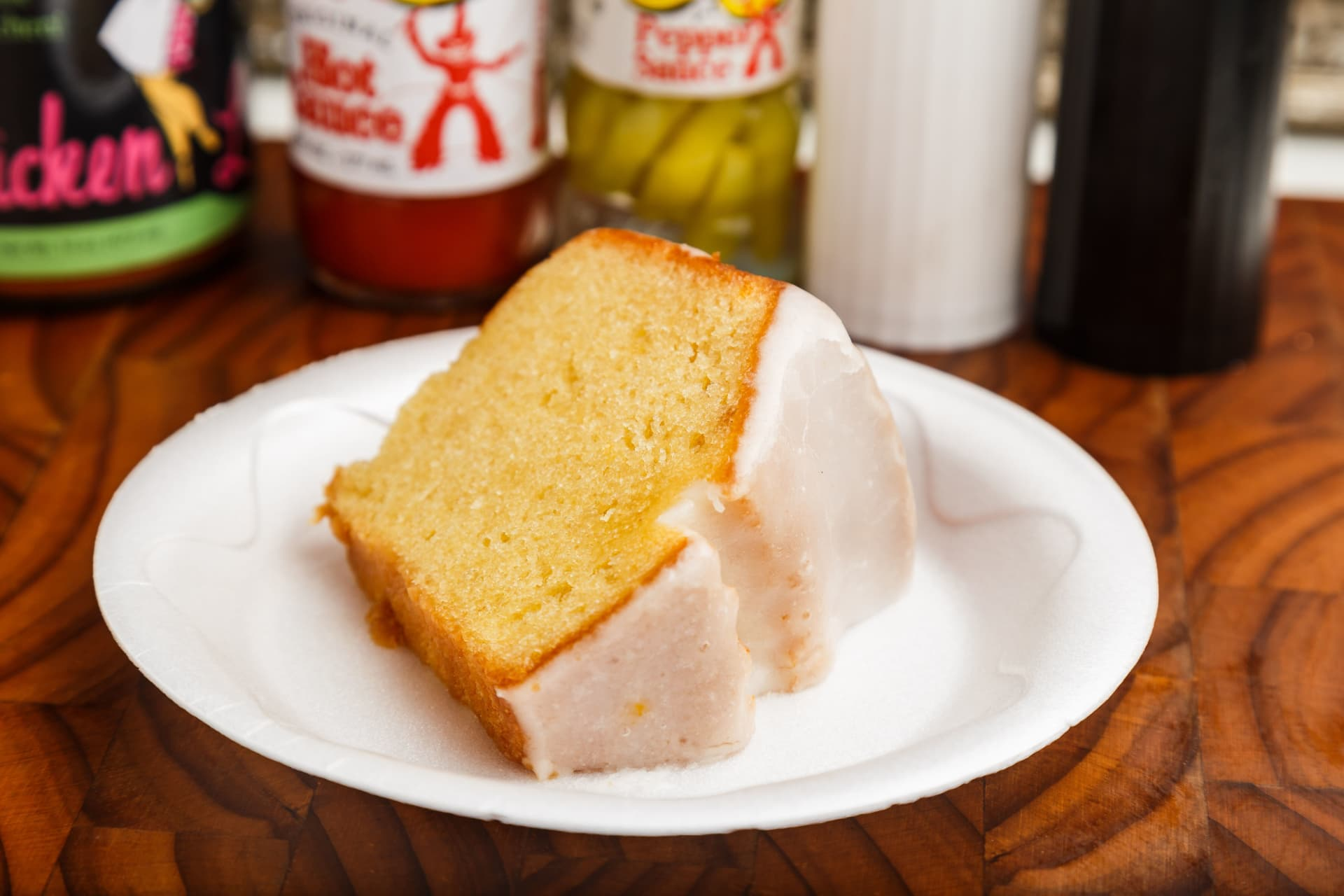 Lemon Creme Pound Cake