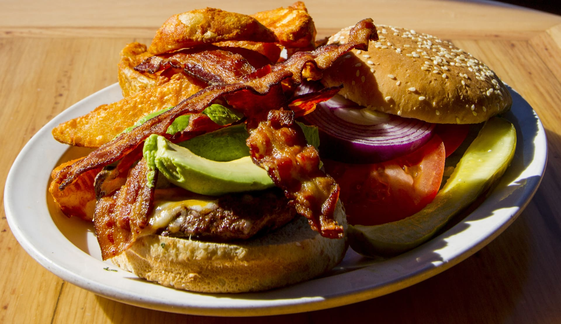 Avocado Bacon Burger