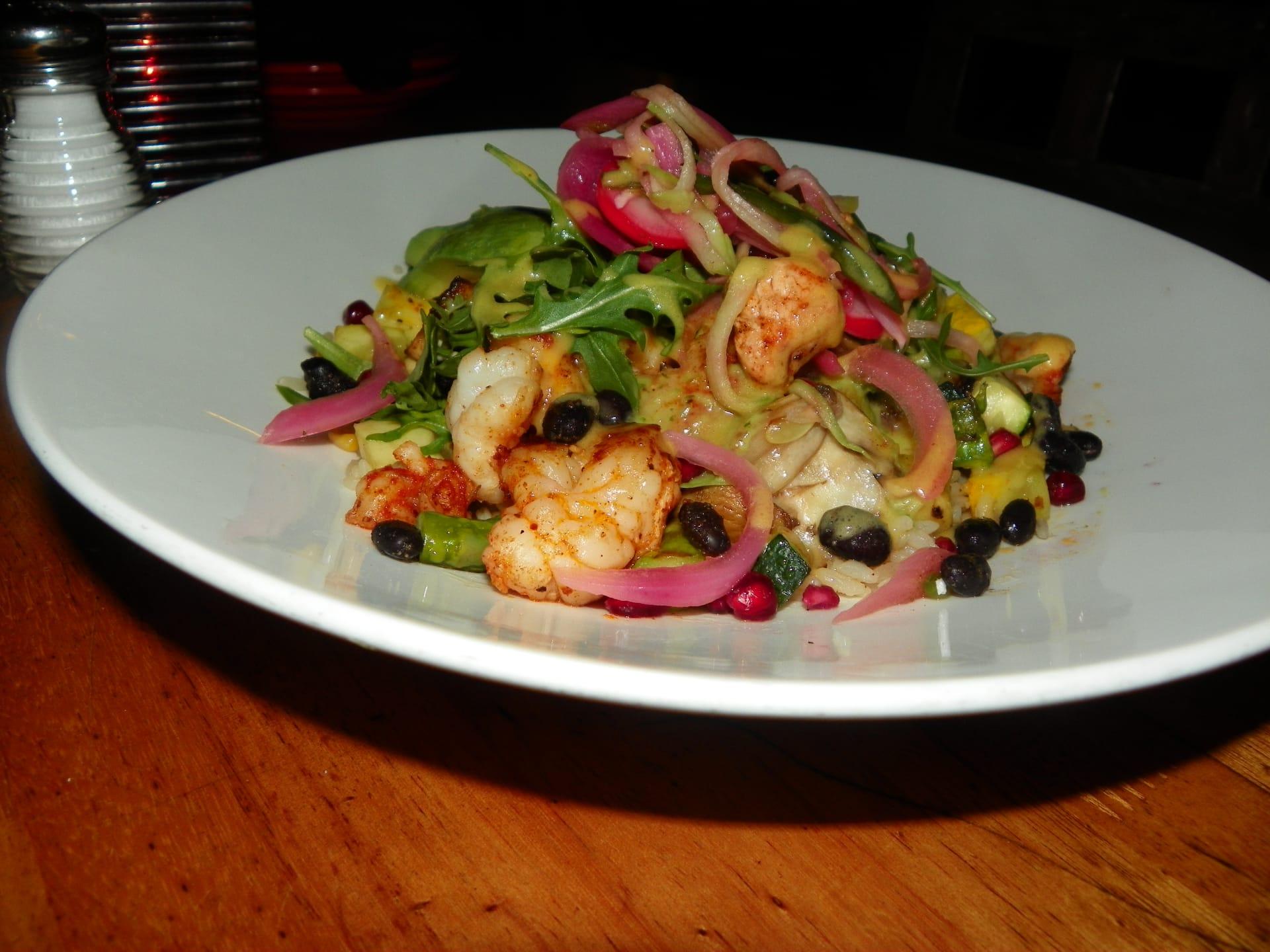 Cortez Seafood Bowl