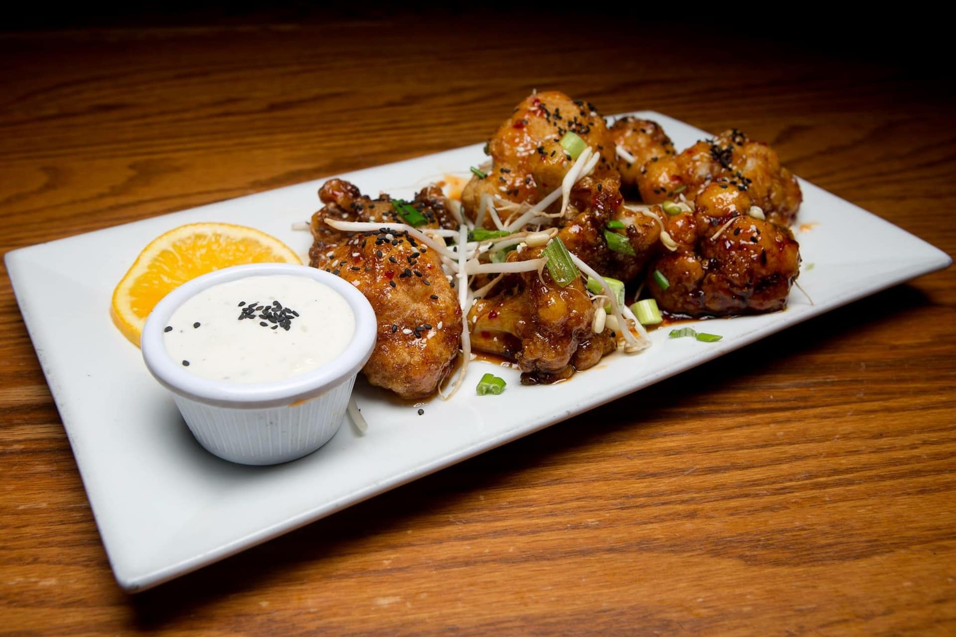 Asian Style Fried Califlower