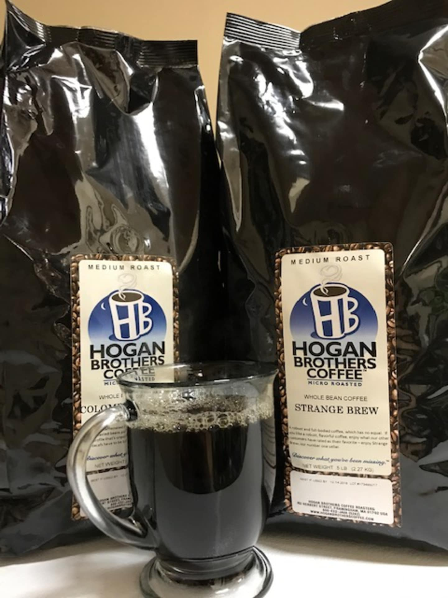 Hogan Brothers Fresh Roasted Coffee