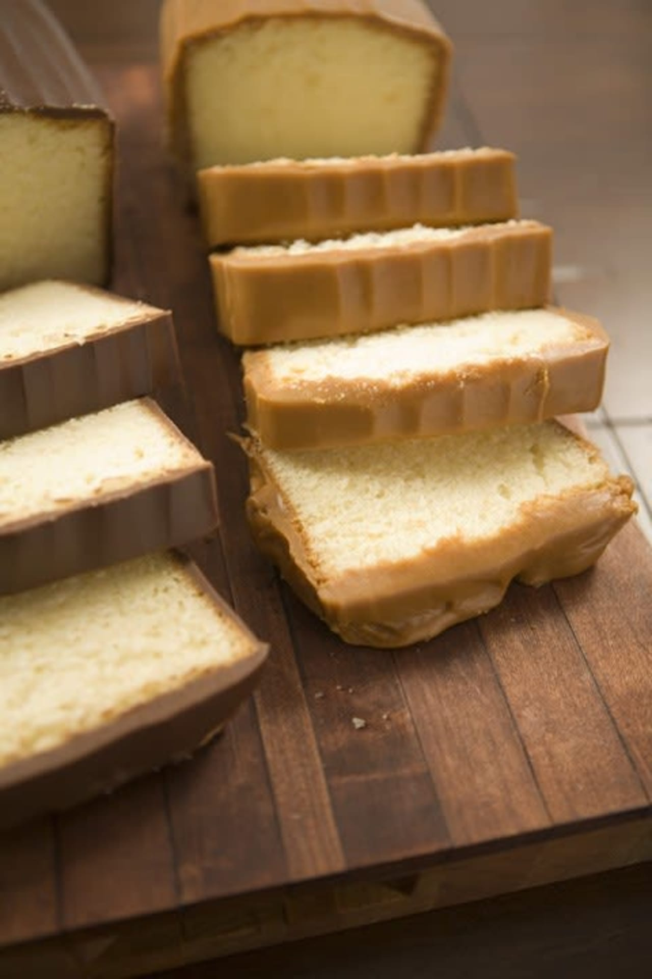 Plain Pound/Caramel Icing