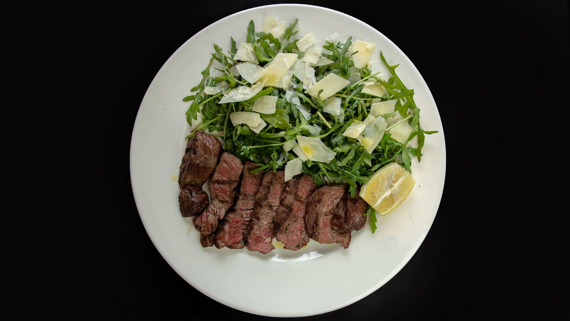 Arugula Steak Salad