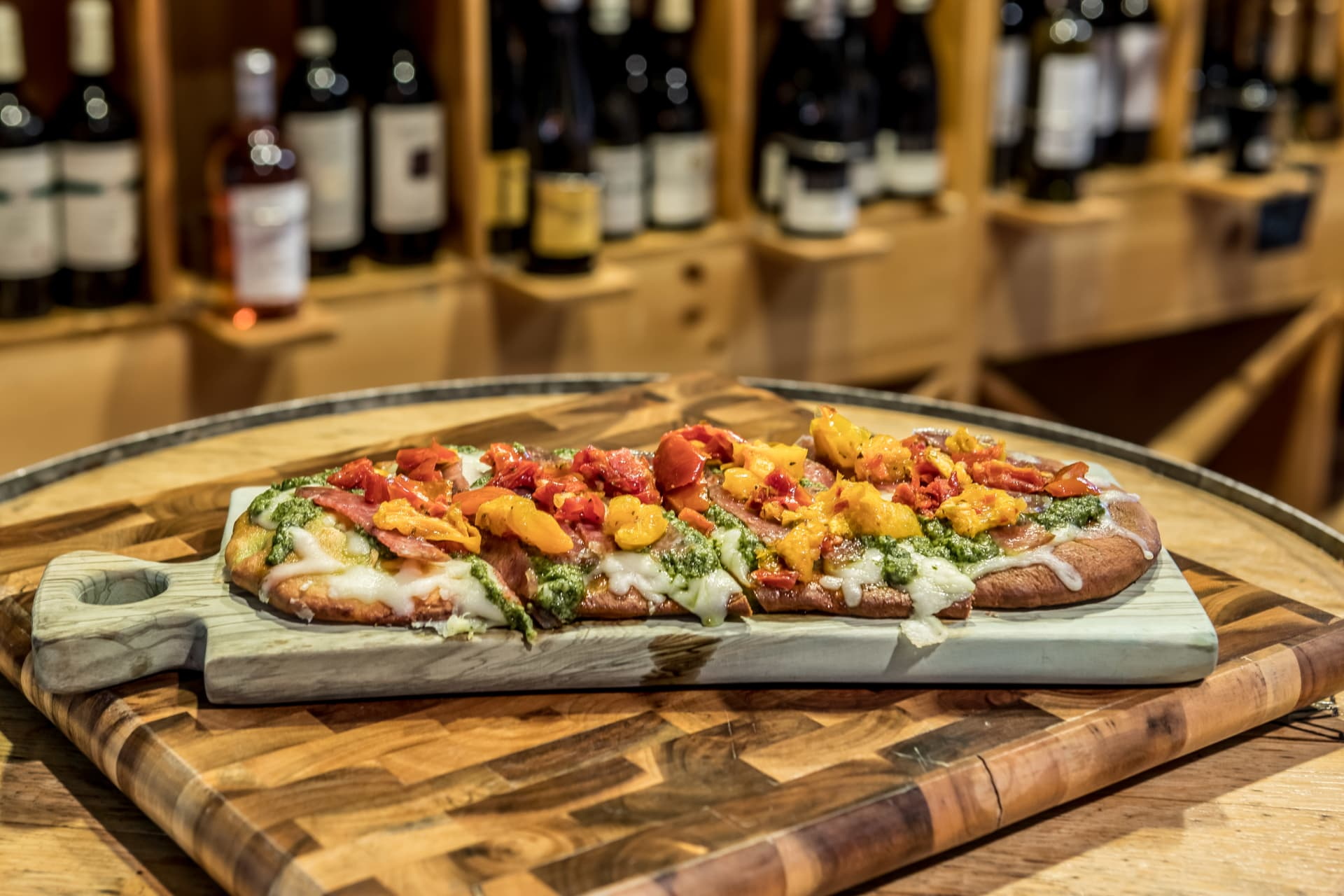 WINE COUNTRY FLAT BREAD PIZZA