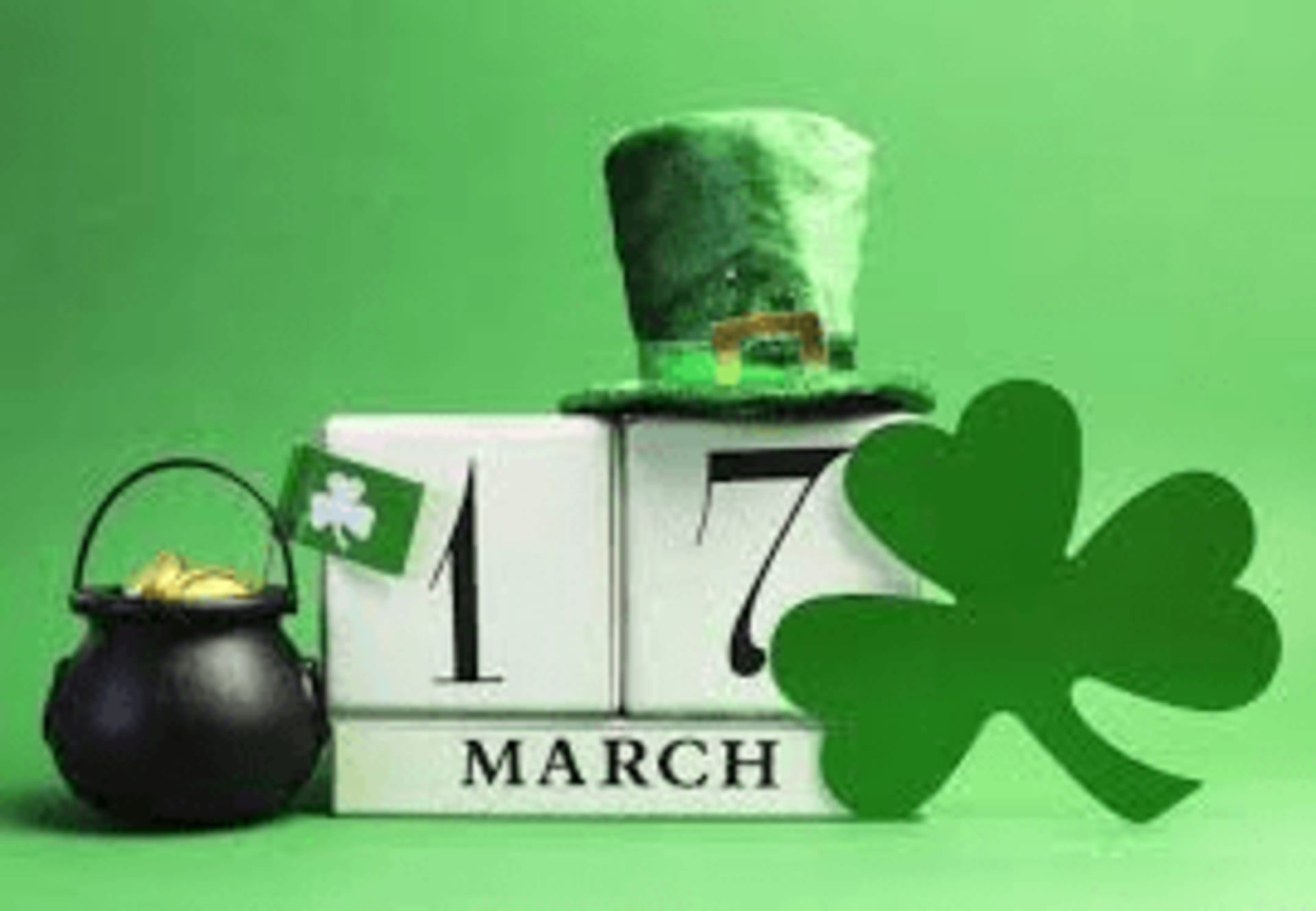 March 17th - St. Patrick's Day Celebration!