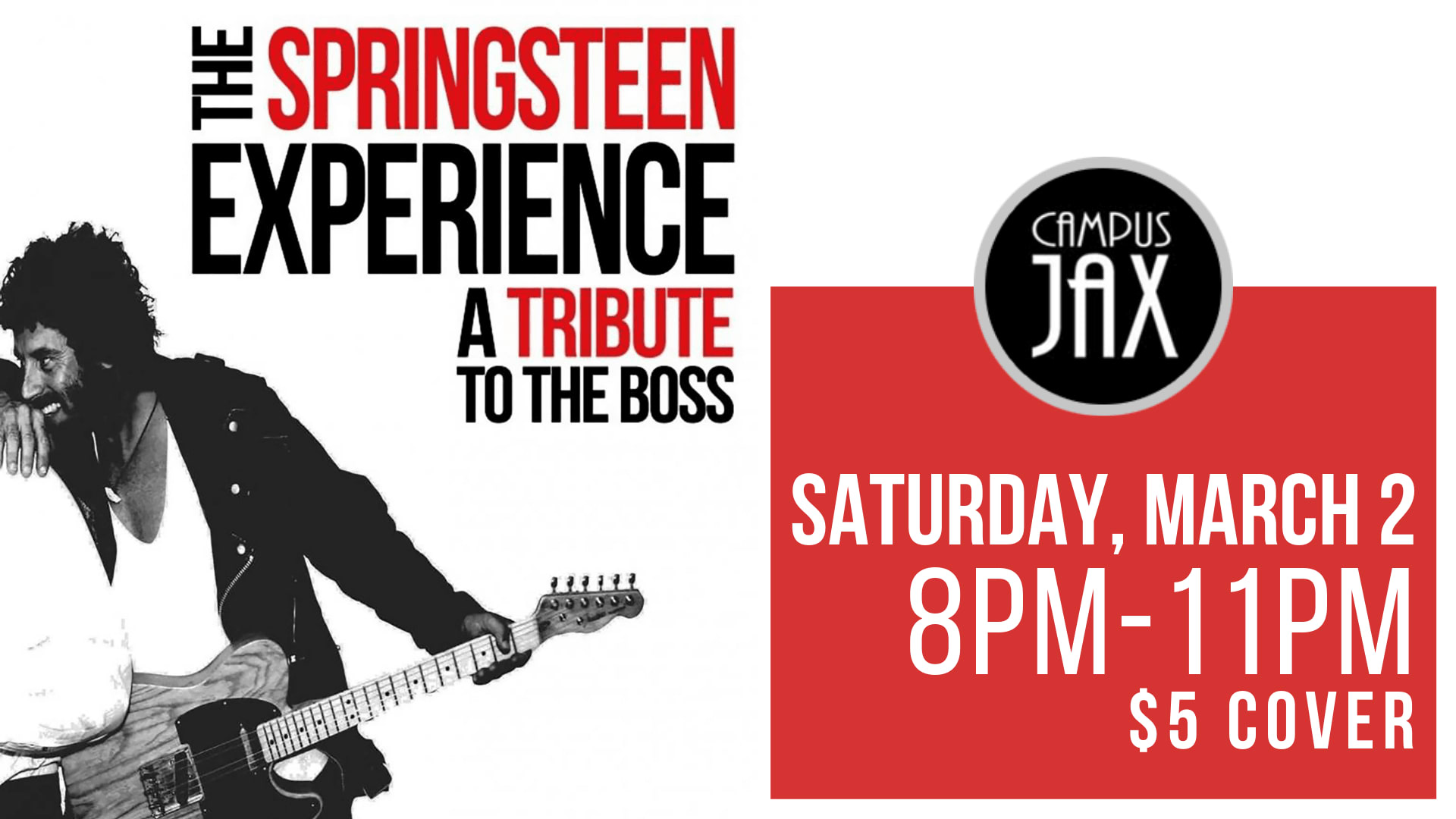 March 2 | SPRINGSTEEN EXPERIENCE