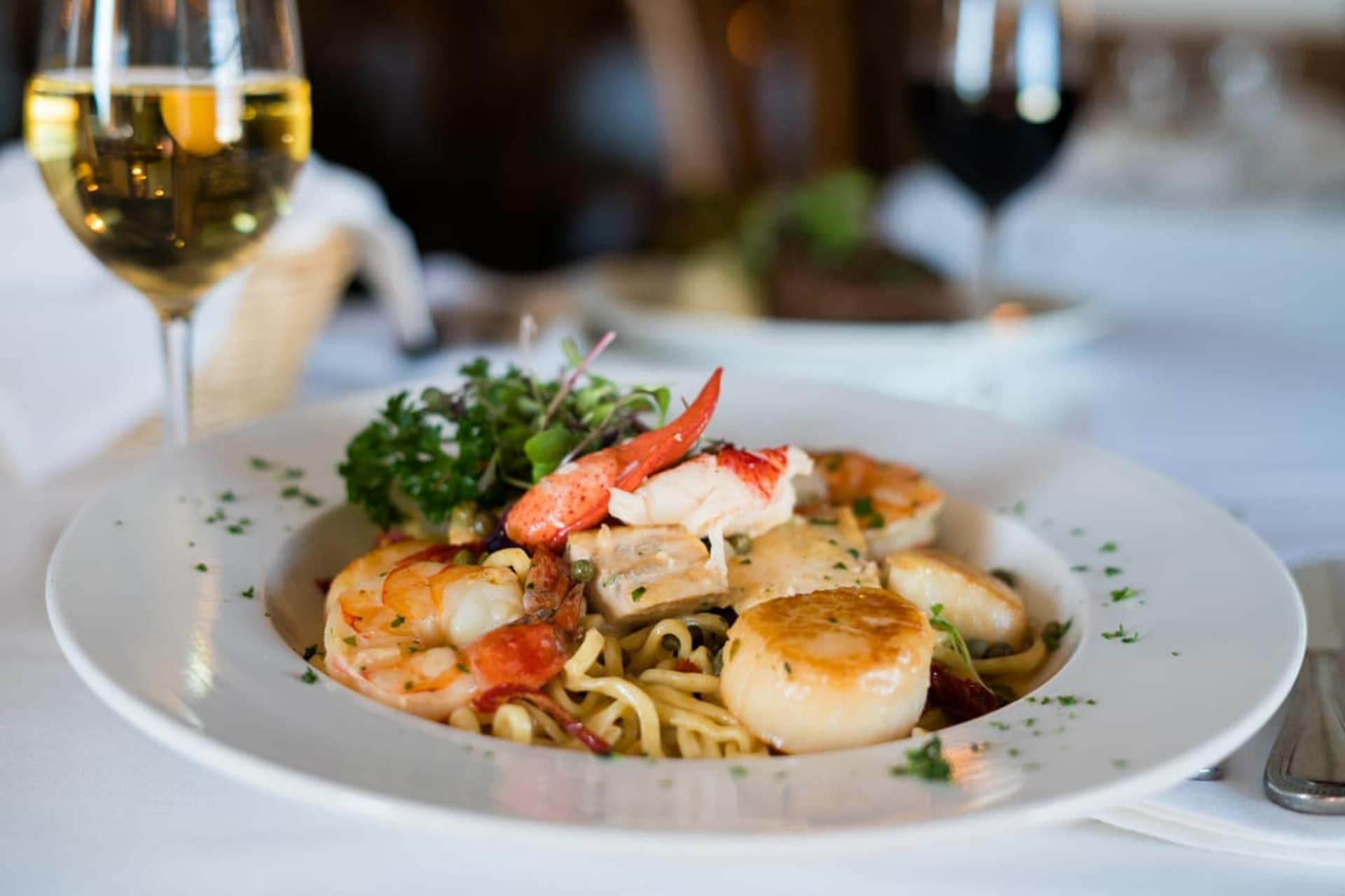 Seafood Picatta