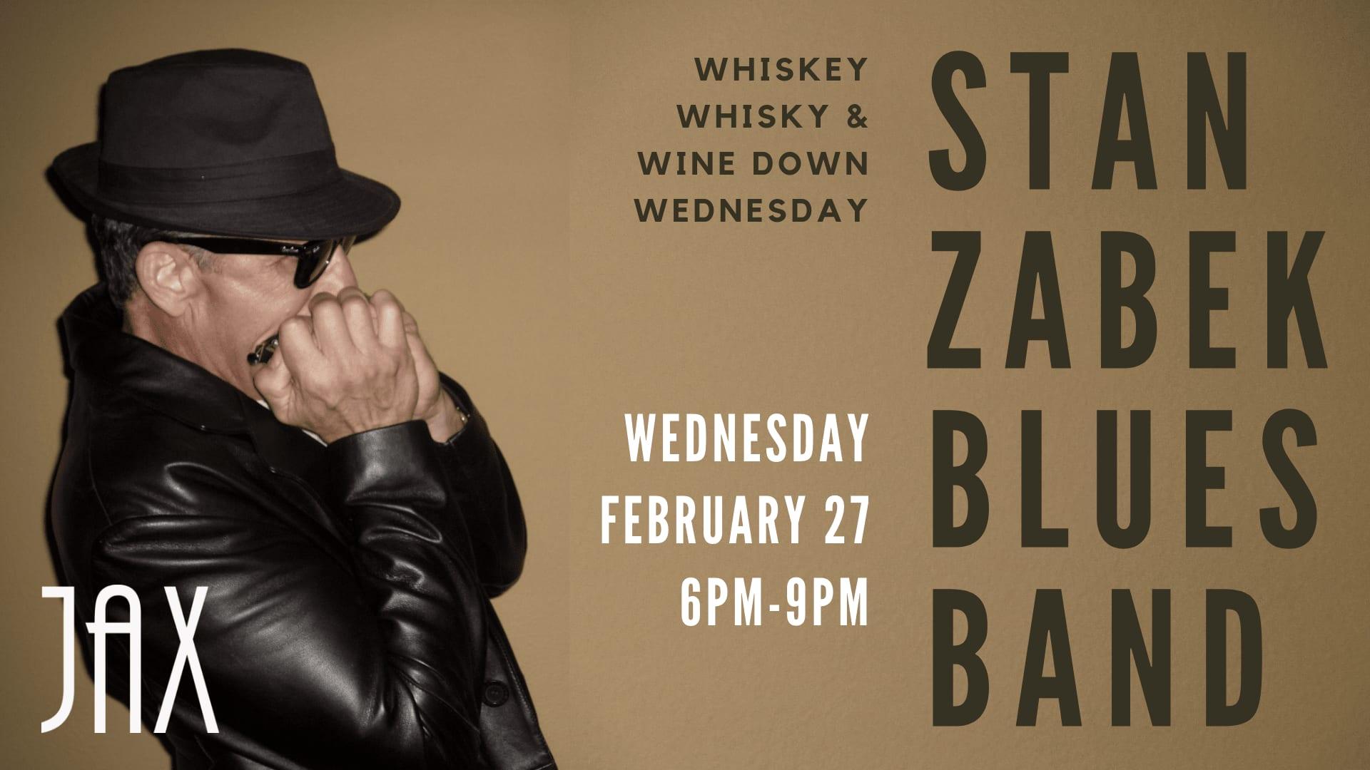 February 27 | STAN ZABEK BLUES BAND