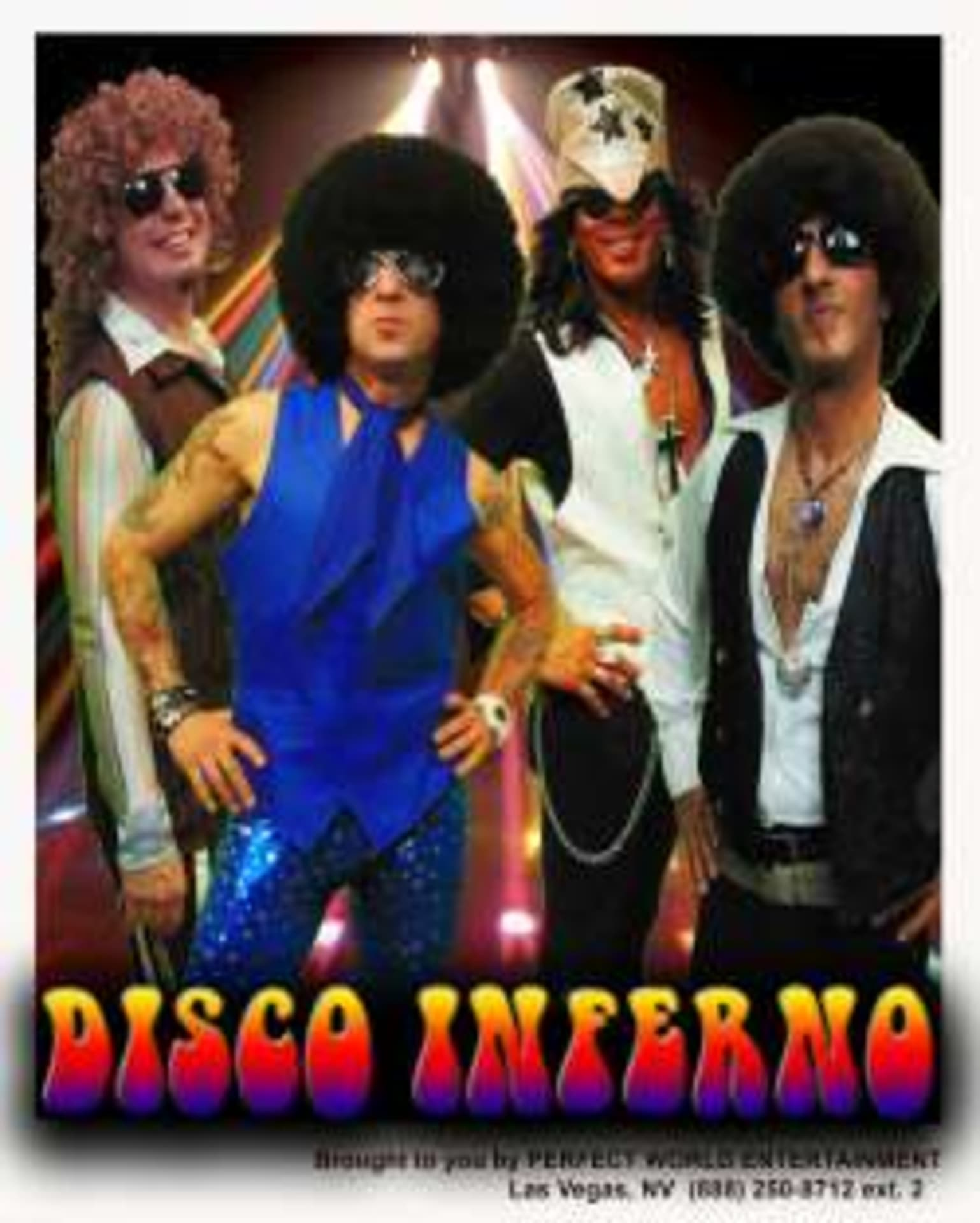 Disco Inferno Saturday April 27th