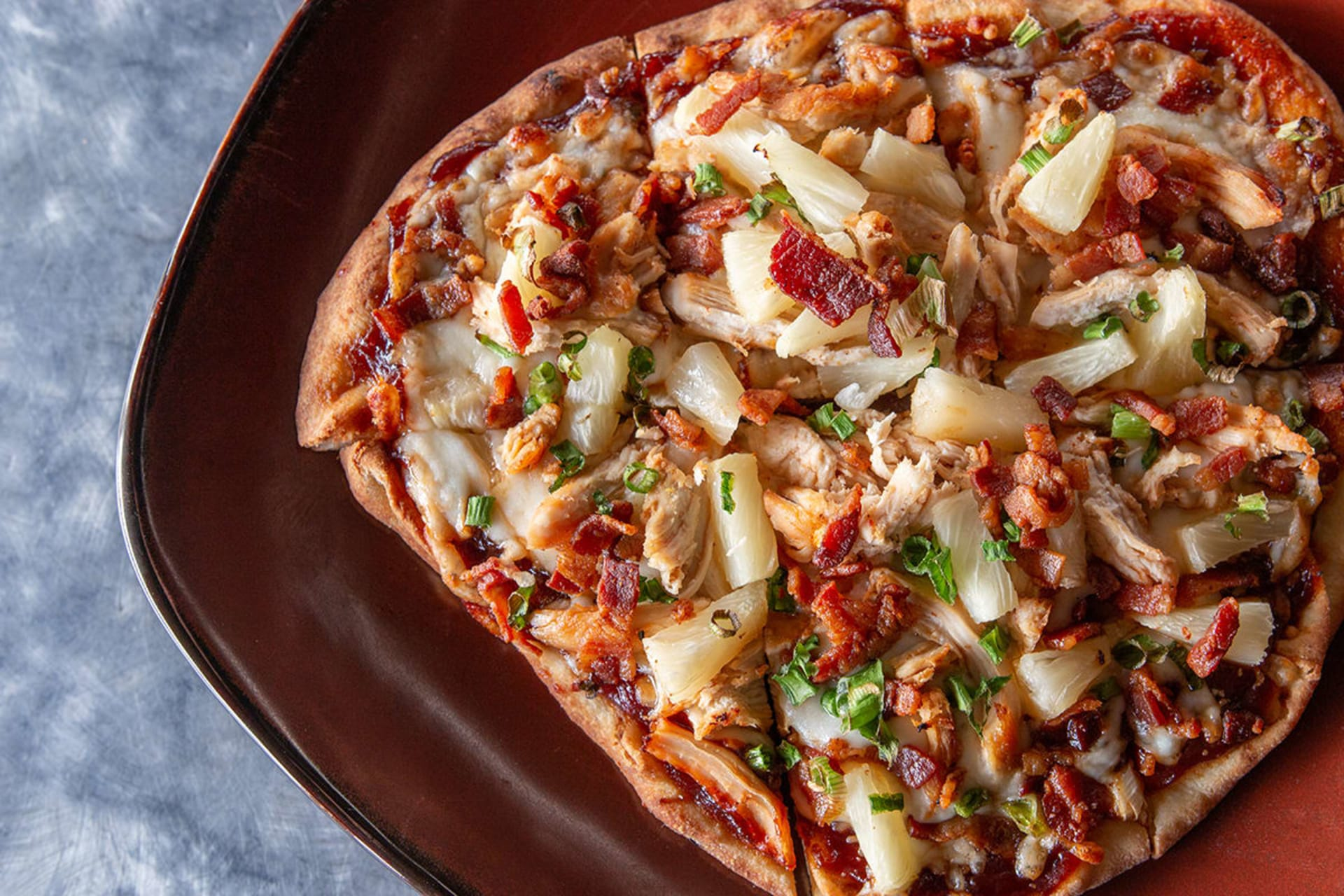 Aloha Chicken Flatbread