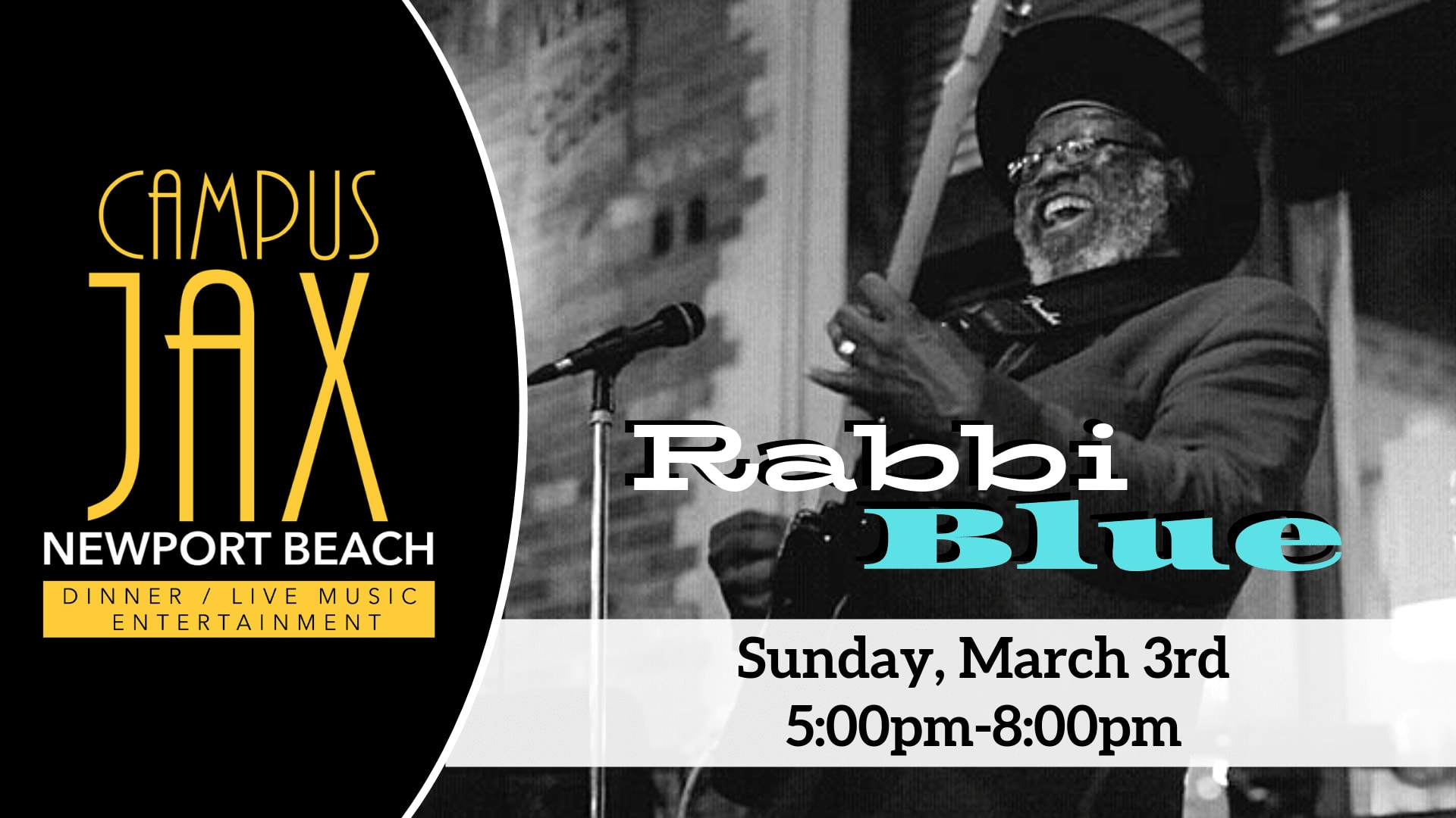 March 3 | RABBI BLUE
