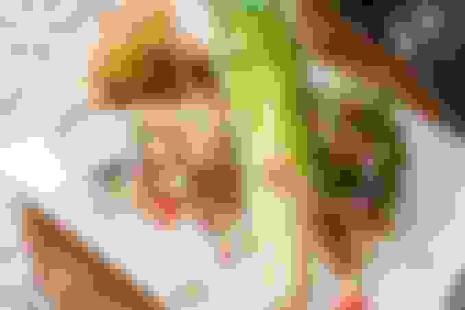 Crispy Chicken Wedge Salad