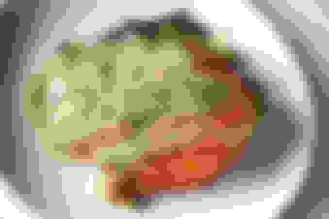 Crispy Jidori Chicken Schnitzel with Maitake Mushrooms