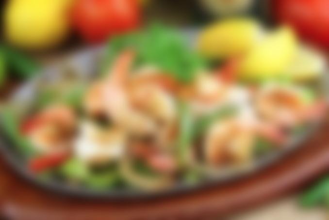 Shrimp Sizzlin' Fajitas