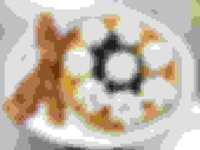 Captain's Fruit Waffle