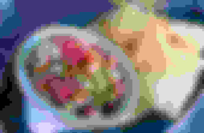 Ahi Poke Ceviche Bowl