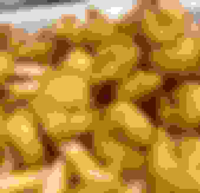 Fried Baby Popcorn Shrimp