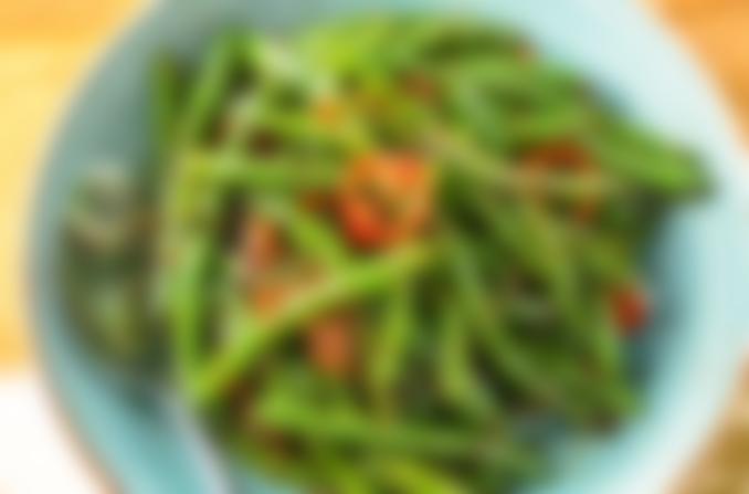 Dau Que Xao Cay • Spicy Green Bean