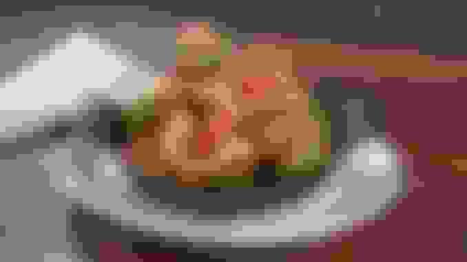 Cast Iron Roasted Romanesco Cauliflower