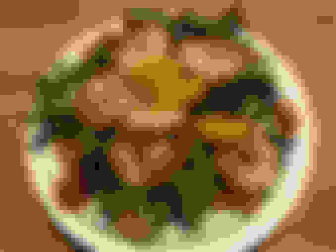 Ginger Shrimp Salad