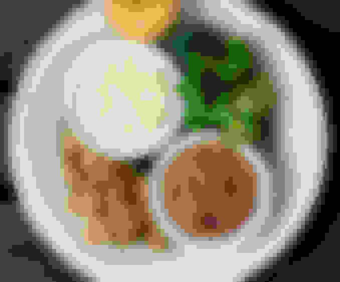 4 Veggie Plate