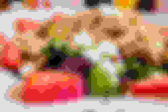Blackened Chicken Spring Salad