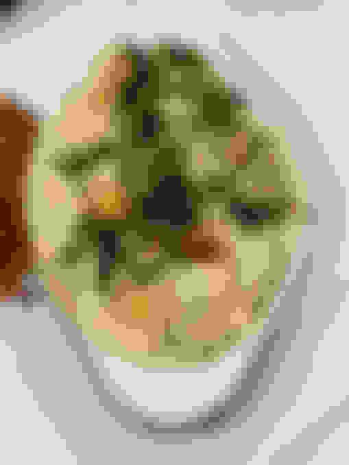 Basil Pesto Shrimp 'n' Goat Cheese