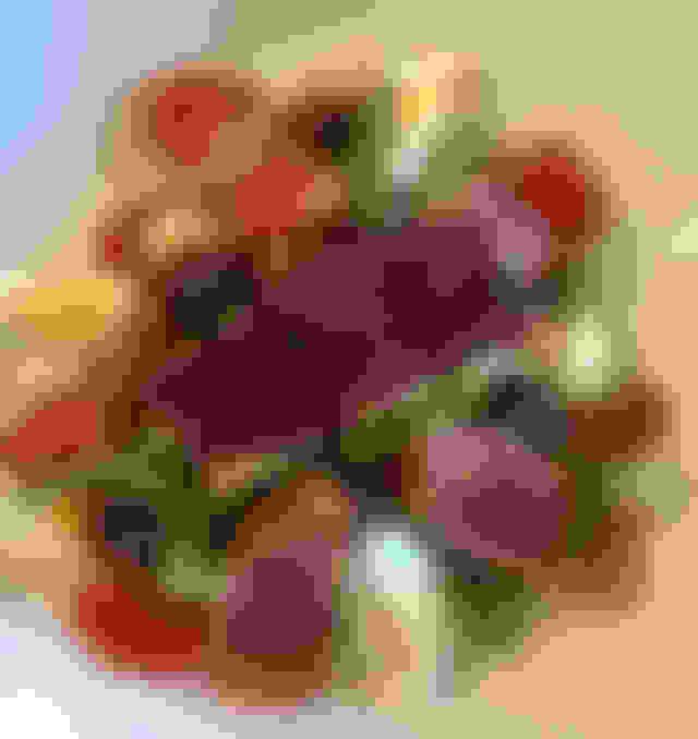 "Seared Yellowfin Ahi Tuna Salad ""Nicoise"" Style"
