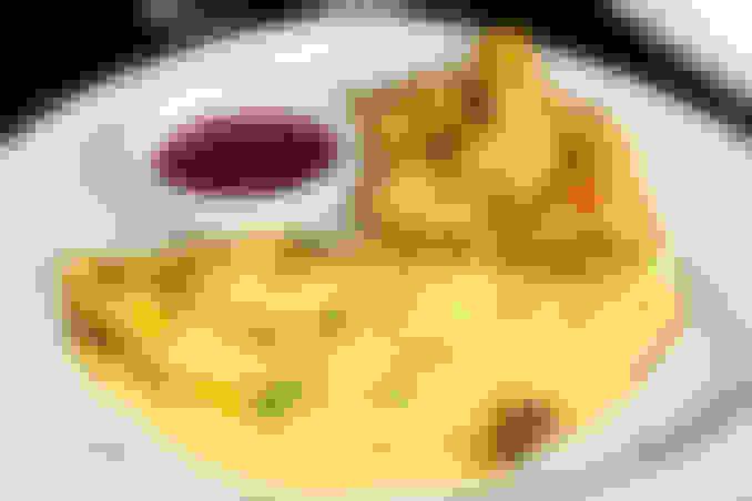 Beef Shawarma Omelet