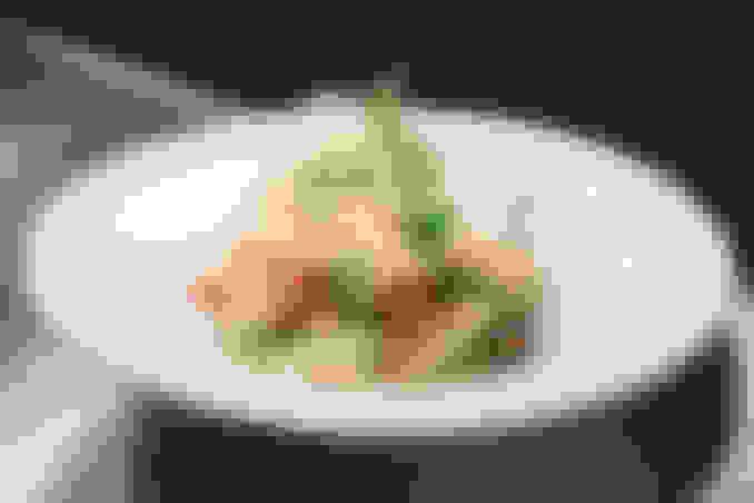 Lemon Verbena Poached Scottish Salmon