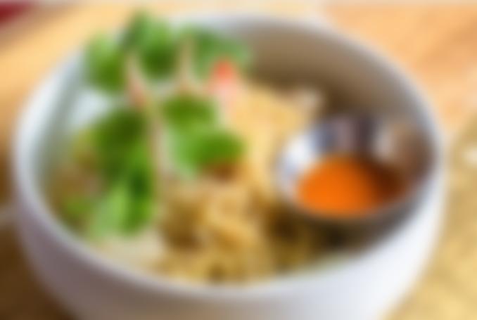 Mi Cua • Garlic Crab Noodle