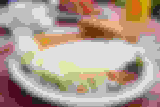 Tomato, Spinach & Feta Omelet