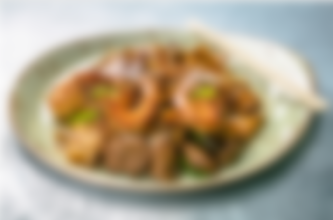 Hu Tieu Xao Bo • Drunken Noodle
