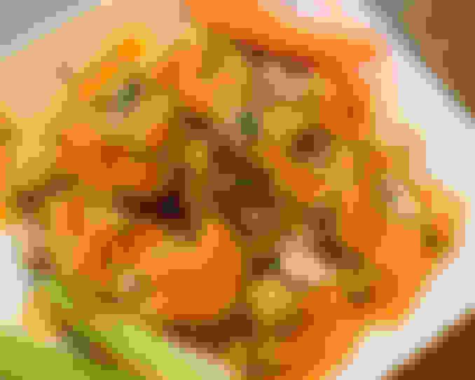 Crispy Buffalo Cauliflower (Vegetarian)