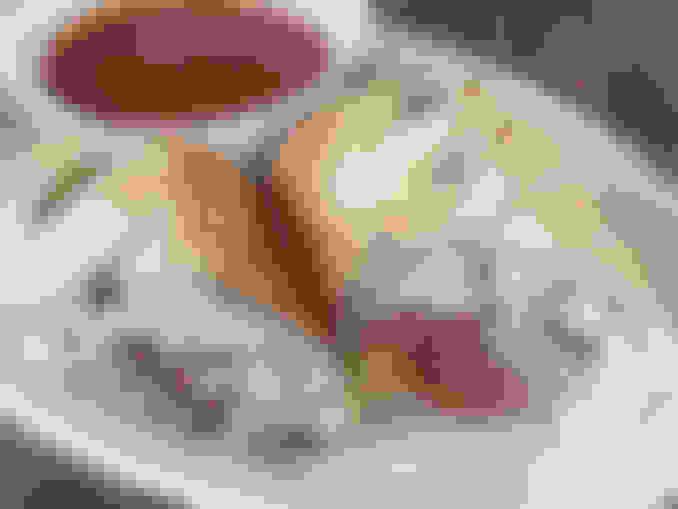 Meat Trio Stromboli
