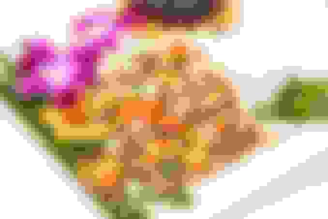 Baked Tilapia Platter
