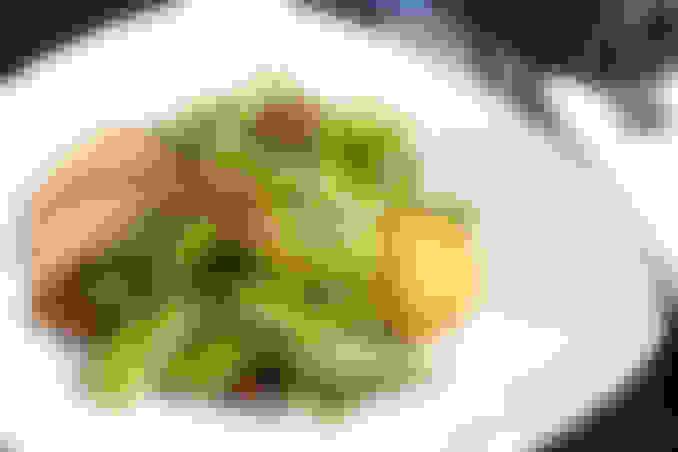 Crispy Goat Cheese Salad