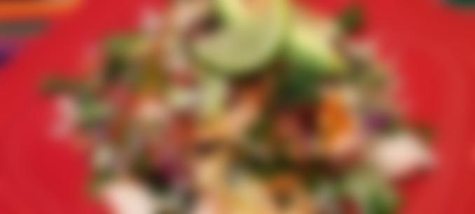 Ceviche Tostada