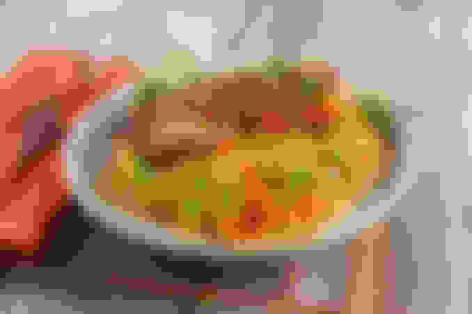 Chicken Basil Spaghetti