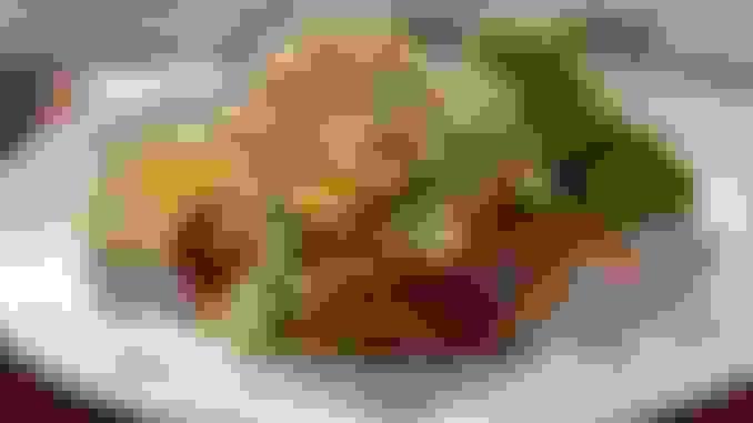 Cajun Seared Mahi Mahi