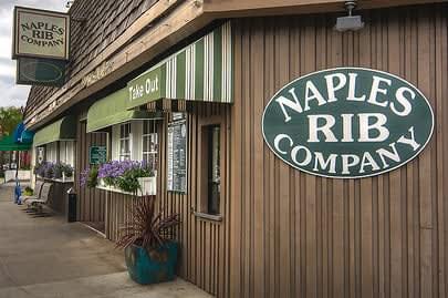Naples Rib Company exterior