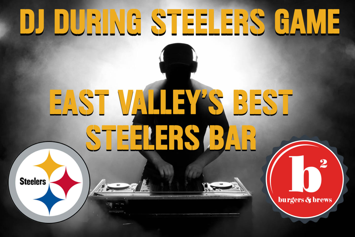 dj during steelers game - east valley's best steelers bar