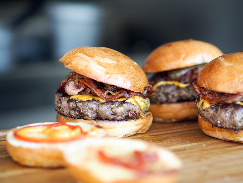 burger sliders at Culhane's Irish Pub in Jacksonville, FL