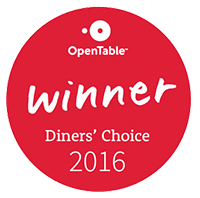 open table winner - diners' choice 2016