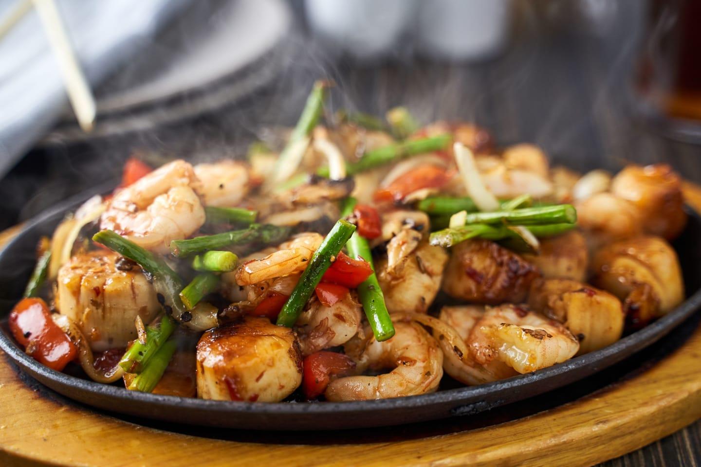 Shanghai Shrimp and Scallops