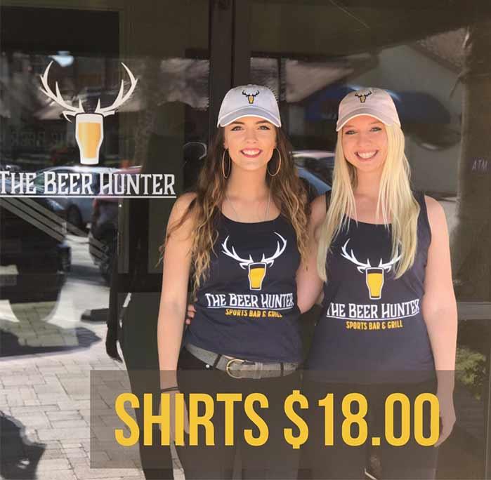 beer hunter t-shirts - $18.00