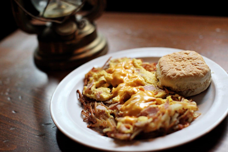 ham n egg omelette
