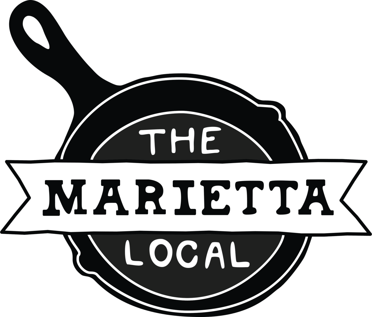 the marietta local logo