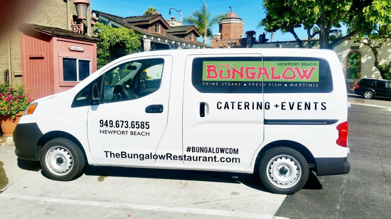 Off-Site Catering Van