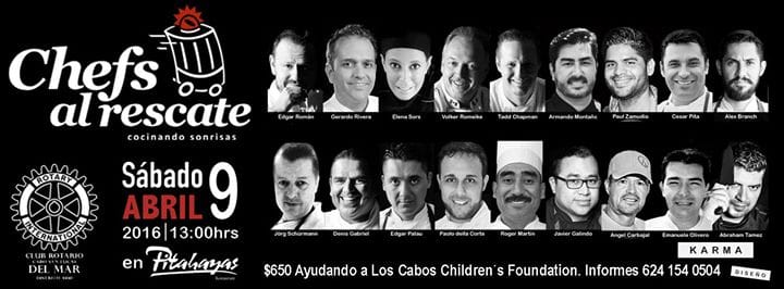 Javier's Los Cabos gives back to the community by supporting Los Cabos Childerens Foundation